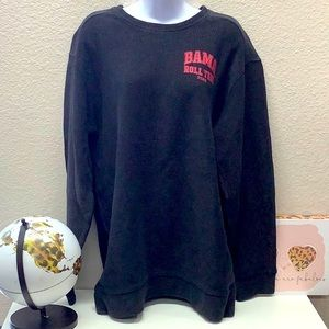 NWT VS Pink University Alabama Ribbed Sweatshirt